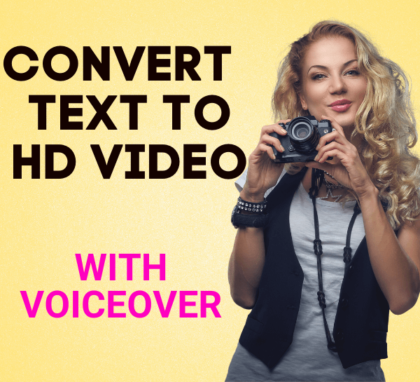 convert article to video